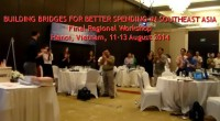 The final regional workshop of Social Accountability in Southeast Asia was held in Hanoi, Vietnam, on 11-13 August 2014. It was part of the program […]